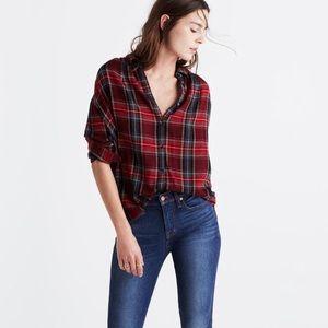 Madewell | Tartan Plaid Shirt